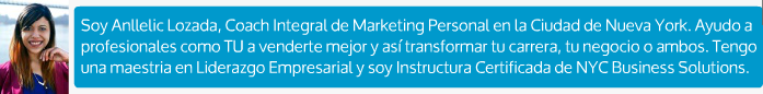 Anllelic Lozada | Personal Marketing Integral Coach