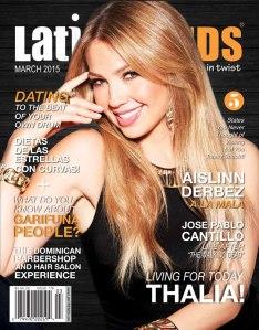 portada de la edicion de marzo de la revista Latin Trends