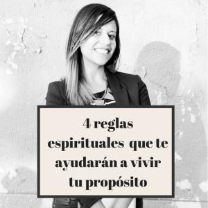 Anllelic 4 reglas espirituales para vivir tu proposito
